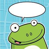 Frog bubble