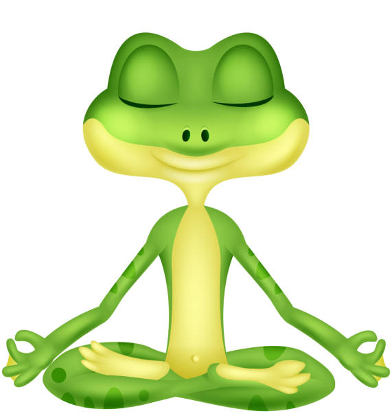 Royalty Free Yoga Animal Fun Clip Art, Vector Images ...