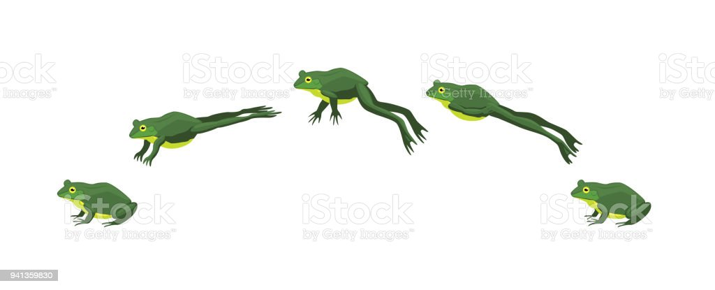 royalty free jumping frog clip art vector images illustrations rh istockphoto com jumping frog clip art free