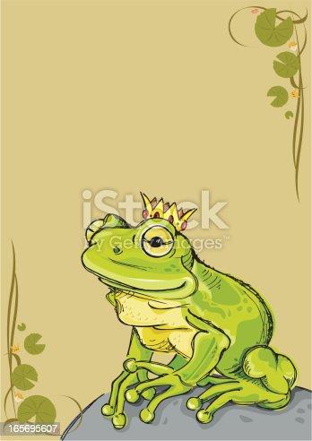 istock Frog Prince 165695607