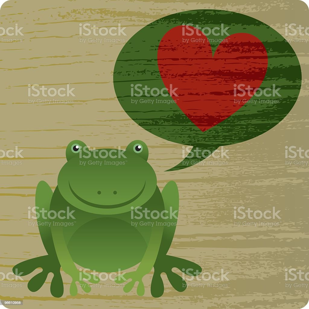 Frog Prince - Royalty-free Animal stock vector