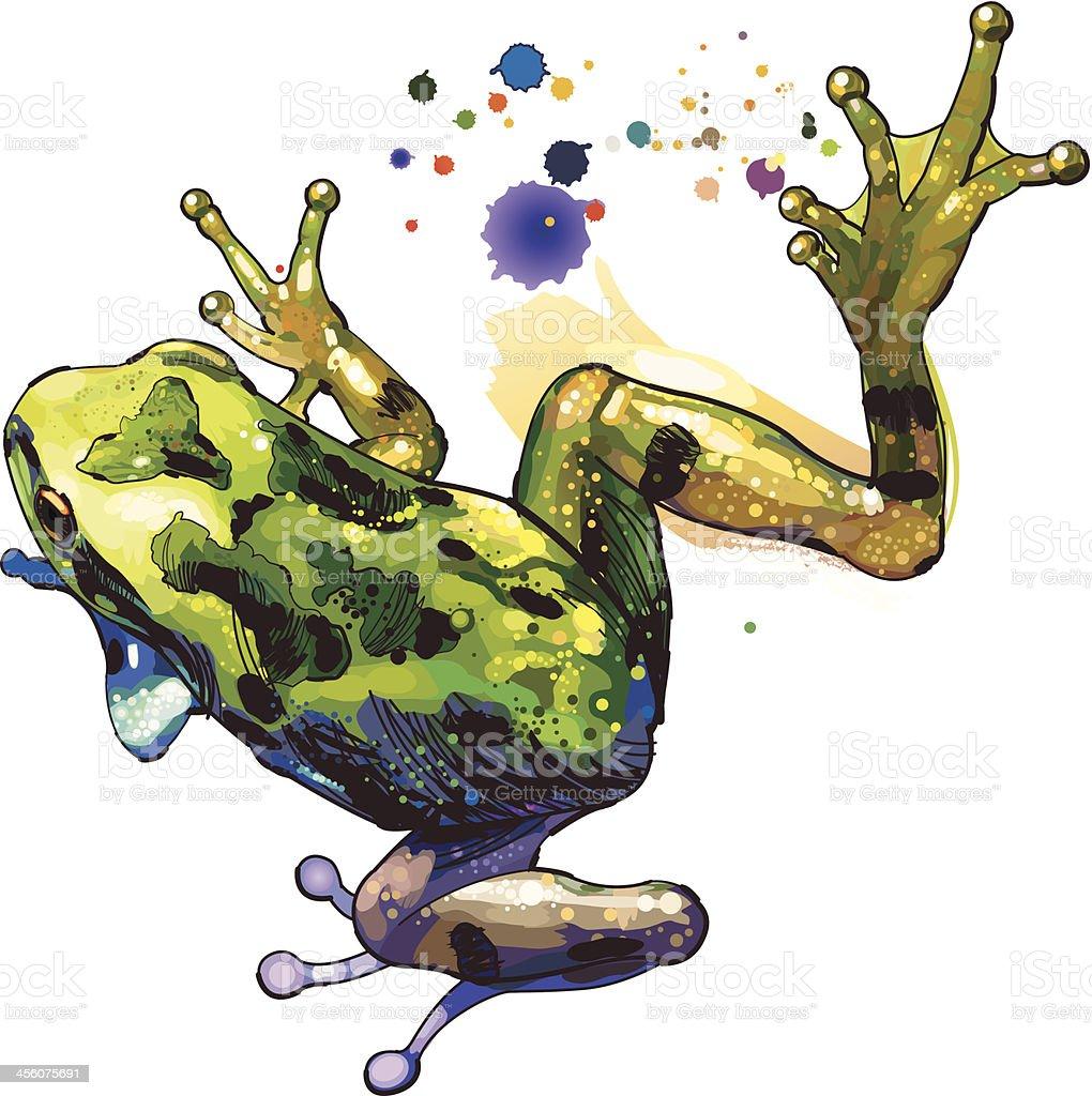 Ilustración de Rana y más banco de imágenes de Anfibio 456075691 ...