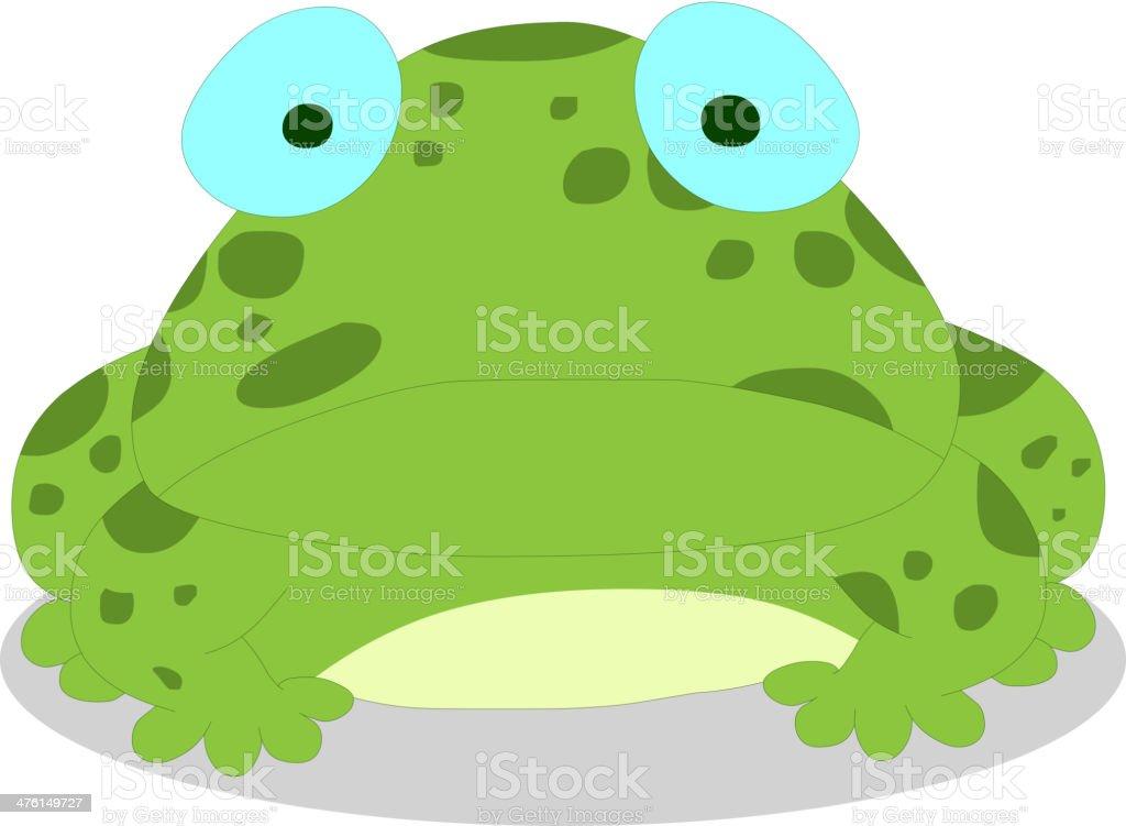 frog royalty-free stock vector art
