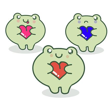 Frog vector illustration EPS10