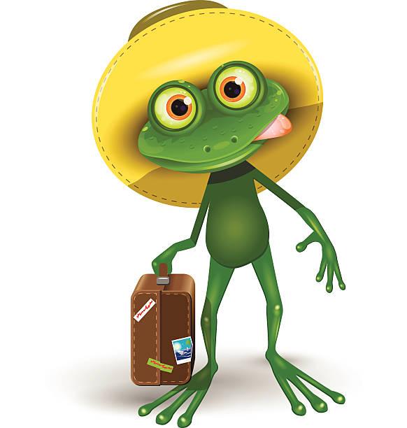 Картинка лягушка путешественница смешная, сделать открытку