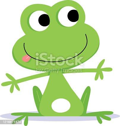 istock Froggy dude. 1216671474