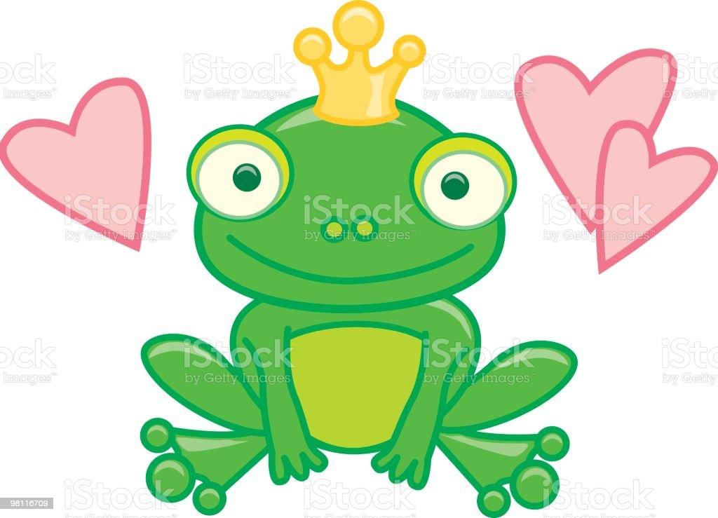 개구리 왕자 royalty-free 개구리 왕자 개구리에 대한 스톡 벡터 아트 및 기타 이미지