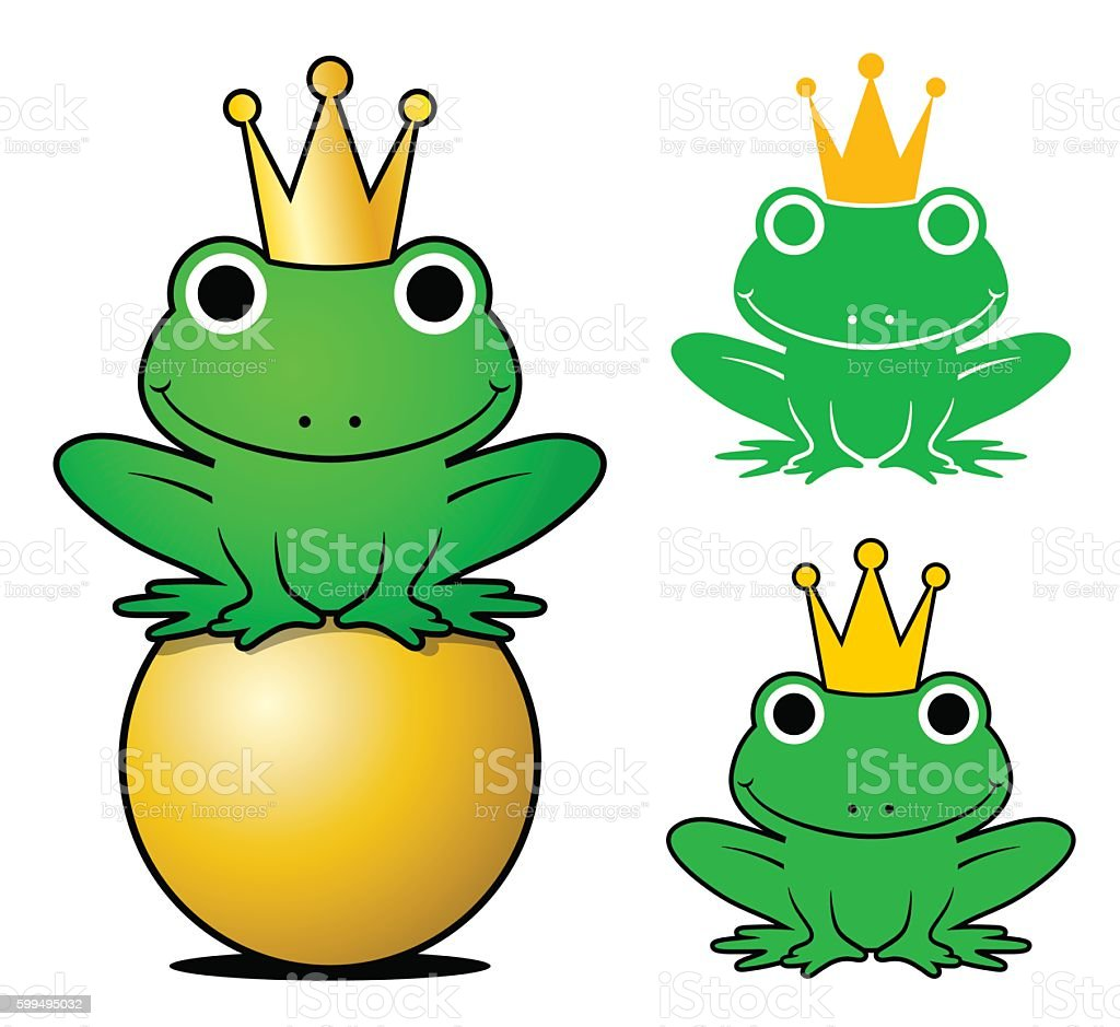 royalty free frog prince clip art vector images illustrations rh istockphoto com  frog prince clip art free