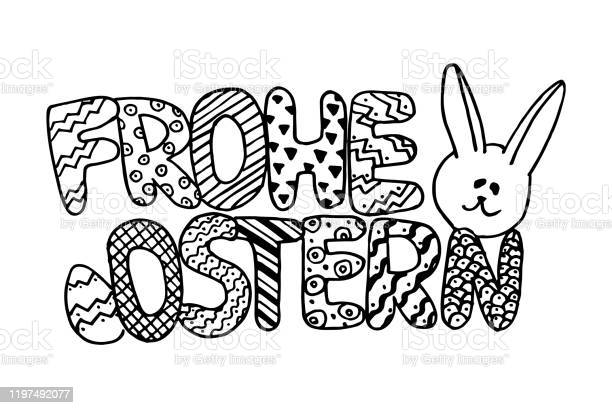 Frohe ostern means happy easter on german language greeting easter vector id1197492077?b=1&k=6&m=1197492077&s=612x612&h=81opibvxqwpxdr3tfqy7g8hg4p826sypravdfk0ov74=