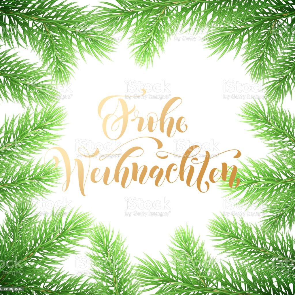 Frohe Wohnaccesoires Deutsch Frohe Weihnachten Urlaub Golden ...