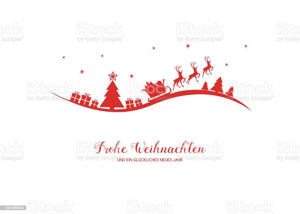 """Фрохе Вейхнахтен - в переводе с немецкого на """"Счастливое Рождество"""". Вектор. - Векторная графика Ёлочные игрушки роялти-фри"""