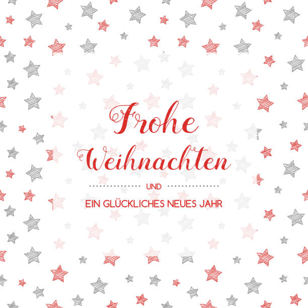 Frohe Weihnachten - translated from german to as Merry Christmas. Vector. Frohe Weihnachten - translated from german to as Merry Christmas. Vector. weihnachten stock illustrations