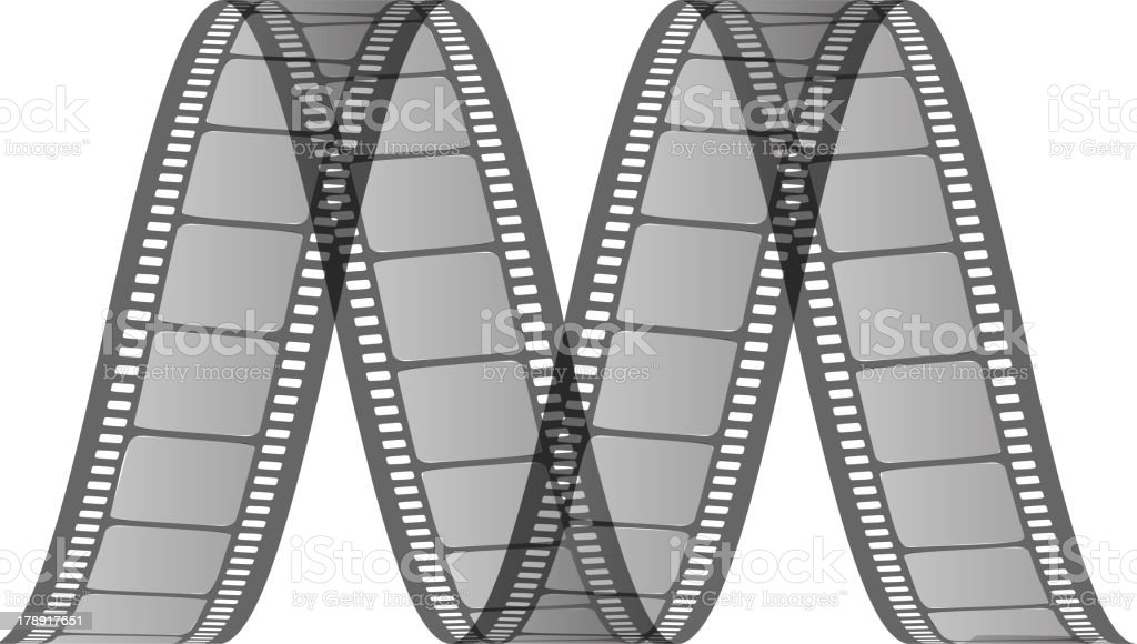 M (movie) from film royalty-free stock vector art