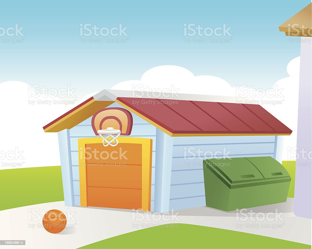Front Yard royalty-free front yard stock vector art & more images of architecture