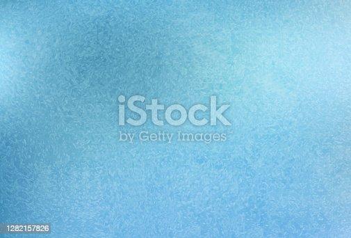 istock Frost pattern background. Frozen texture 1282157826