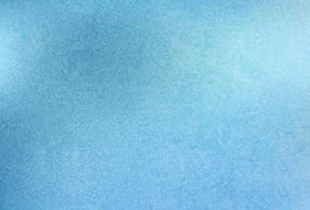 Frost pattern background. Frozen texture vector art illustration
