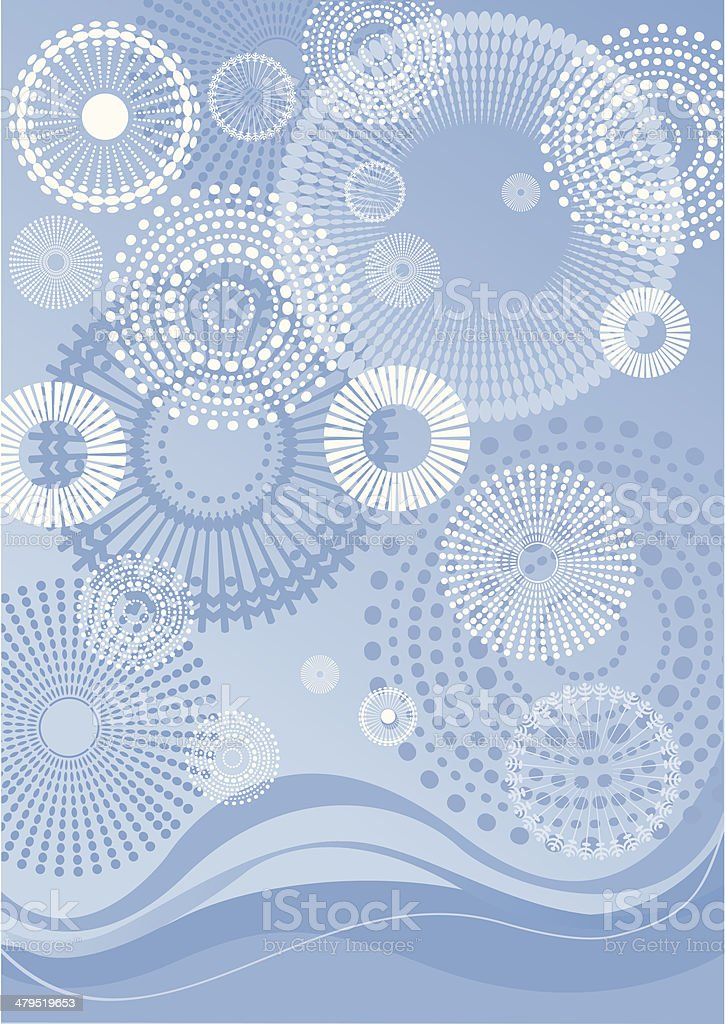 Frosty background royalty-free stock vector art