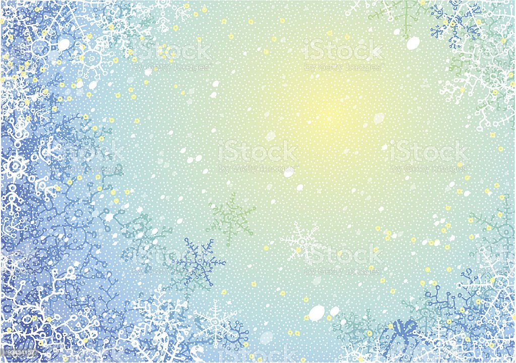 Frosty pattern royalty-free stock vector art