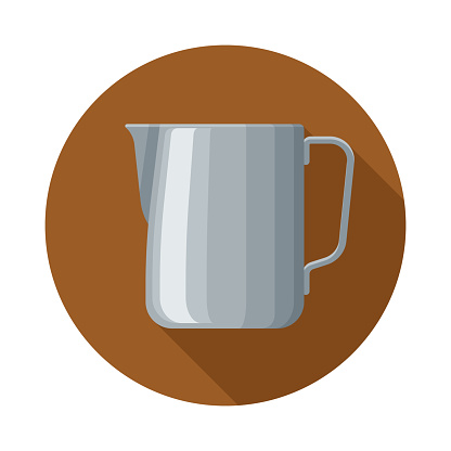 Frothing Pitcher Espresso Making Icon