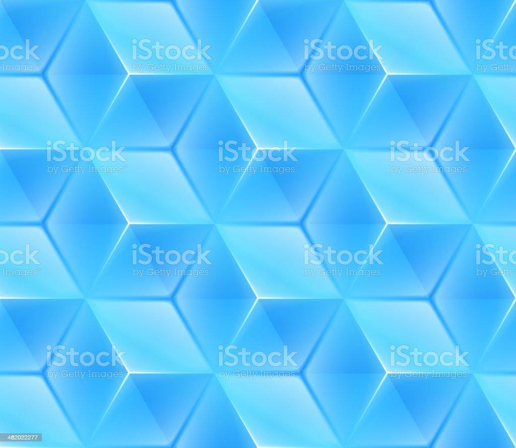 Frozen Ice Crystal Background vector art illustration