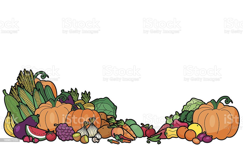 Fruit and Vegetables royalty-free fruit and vegetables stock vector art & more images of apple - fruit