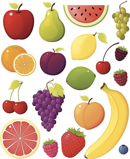フルーツの盛り合わせ - 果物点のイラスト素材/クリップアート素材/マンガ素材/アイコン素材