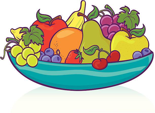 Royalty Free Fruit Basket Clip Art, Vector Images ...