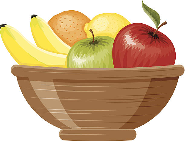 Top 60 Fruit Basket Clip Art, Vector Graphics And