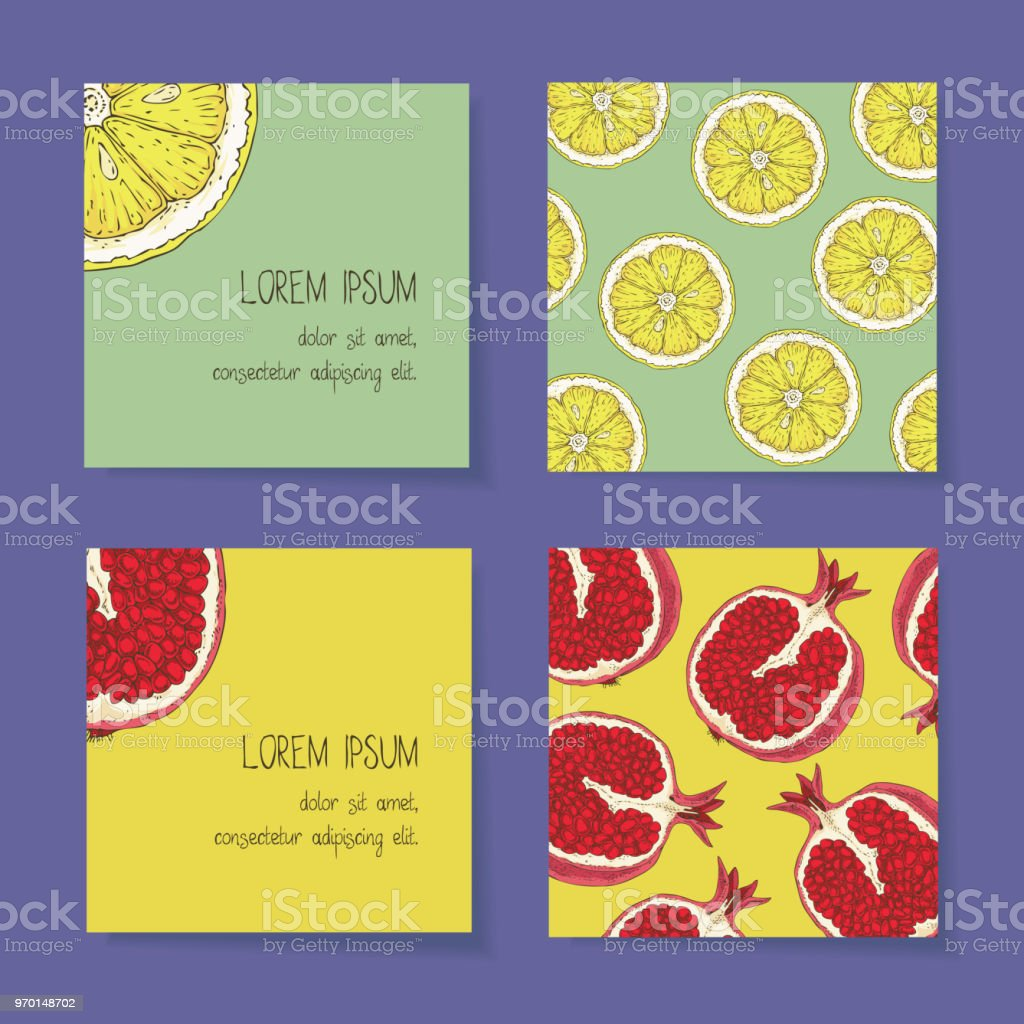 Fruit business cards template collection arte vetorial de stock e fruit business cards template collection fruit business cards template collection arte vetorial de stock e reheart Gallery