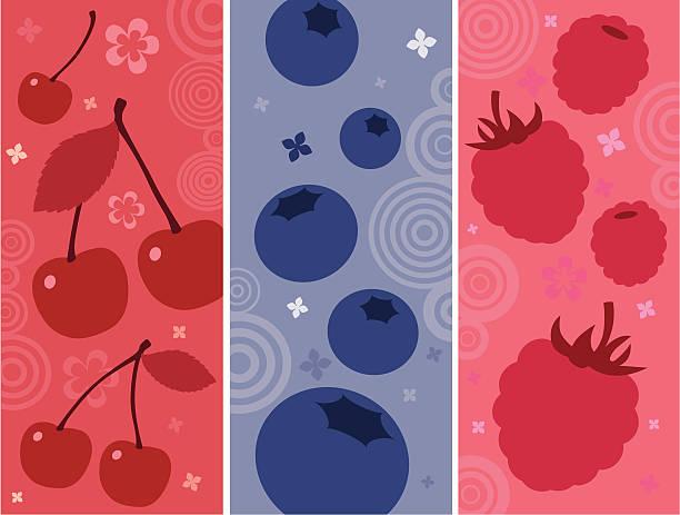 illustrazioni stock, clip art, cartoni animati e icone di tendenza di cocktail di frutta - mirtilli