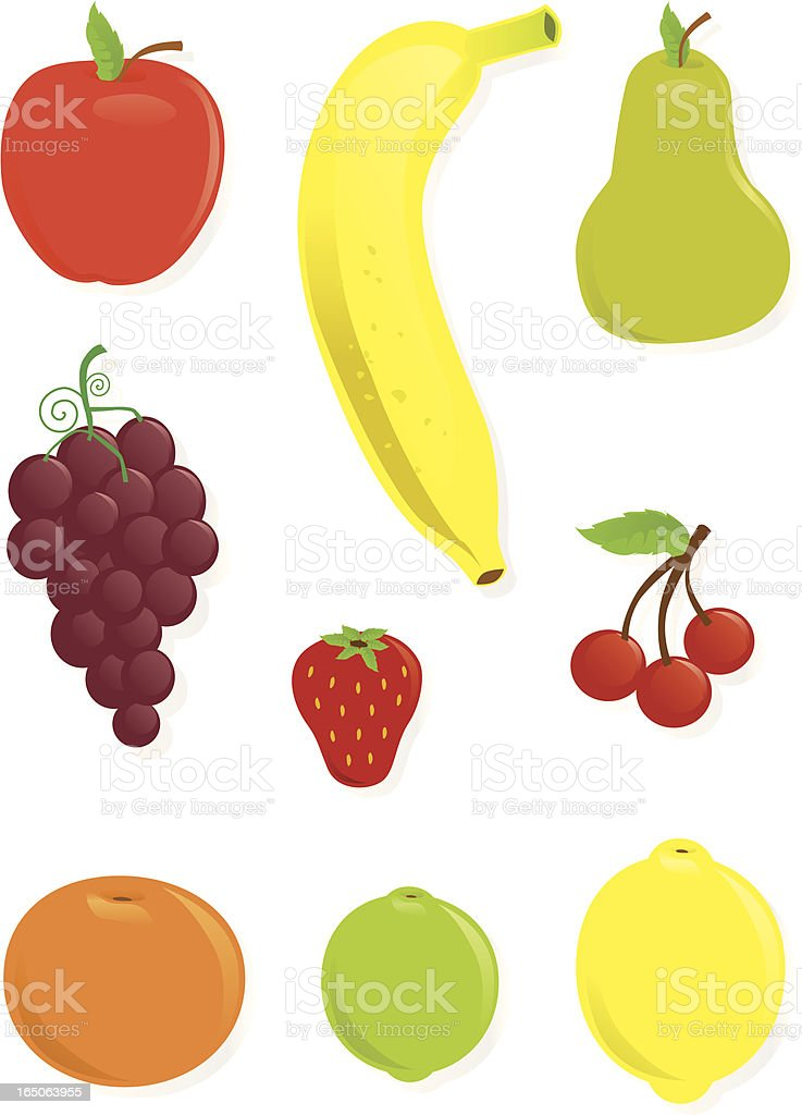 Fruit Collection royalty-free fruit collection stock vector art & more images of apple - fruit