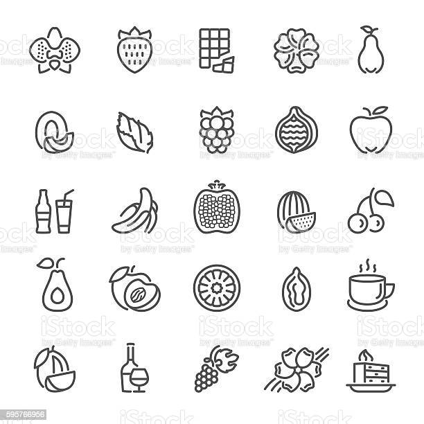 Fruit flavors additives and flavorings icons vector id595766956?b=1&k=6&m=595766956&s=612x612&h=yn6qqsyox3dlkdvl8sw8srqqrtkxmteujmj0sgsytdw=