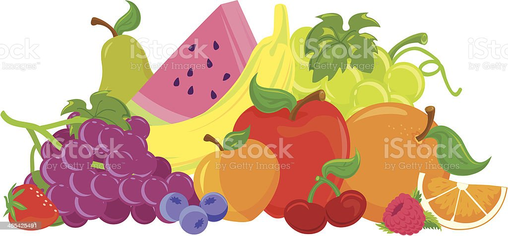 Fruit Group royalty-free fruit group stock vector art & more images of apple - fruit