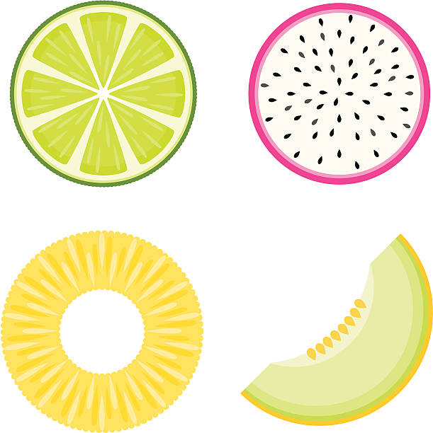 Royalty Free Pineapple Slice Clip Art, Vector Images ...