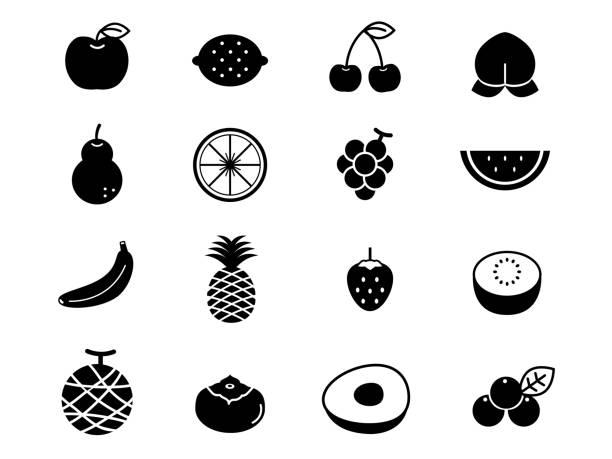 フルーツアイコンセット1 - マスカット イラスト点のイラスト素材/クリップアート素材/マンガ素材/アイコン素材