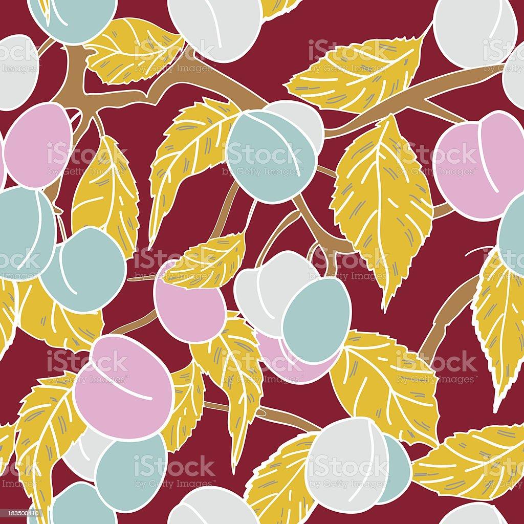 Fruit pattern royalty-free stock vector art