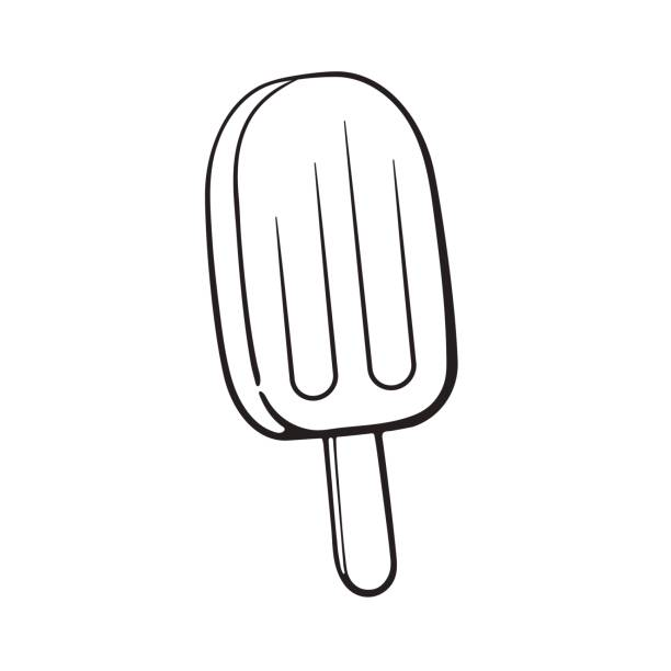 Royalty Free Popsicle Stick On White Clip Art, Vector ...
