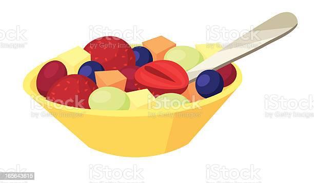 Fruit Salad Stock Illustration - Download Image Now