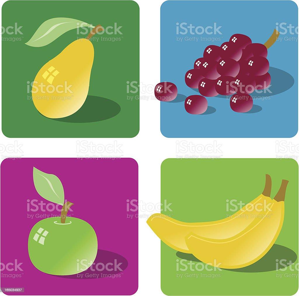 Fruit Set royalty-free stock vector art