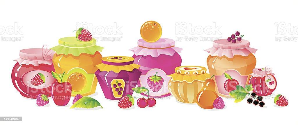 Fruit shelf royalty-free fruit shelf stock vector art & more images of abundance