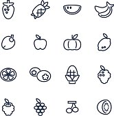 Vector file of fruit icon