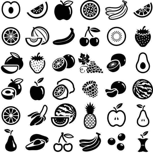 illustrazioni stock, clip art, cartoni animati e icone di tendenza di fruit - passiflora