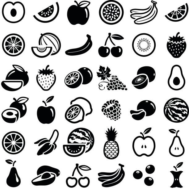 illustrations, cliparts, dessins animés et icônes de fruits frais - fruit de la passion