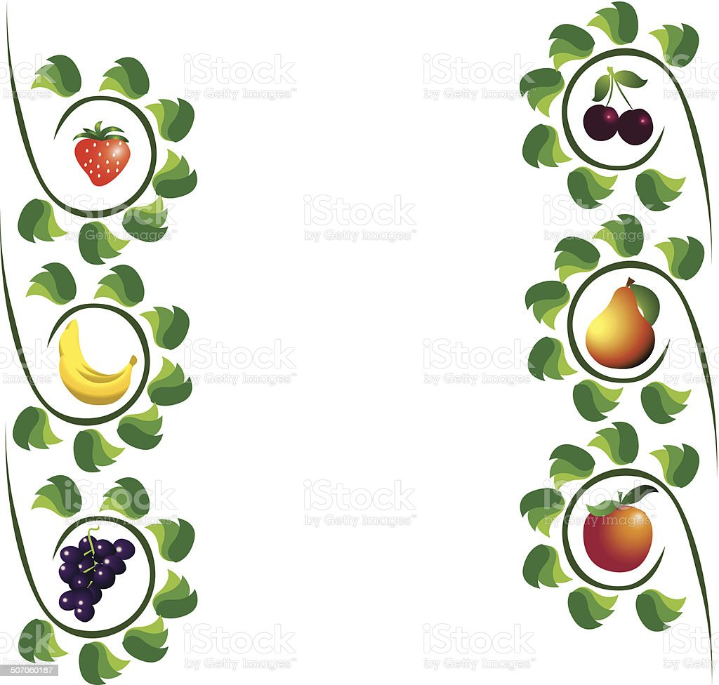 Fruits abstract composition, different fruits icon set, vector royalty-free fruits abstract composition different fruits icon set vector stock vector art & more images of abstract