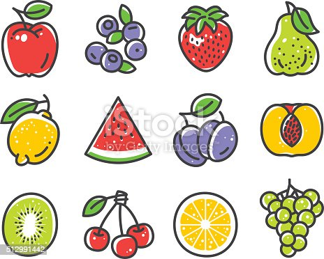 istock Fruits and Berries 512991442