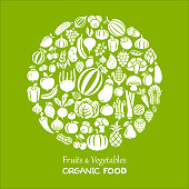 Fruits and Vegetables. Organic Food
