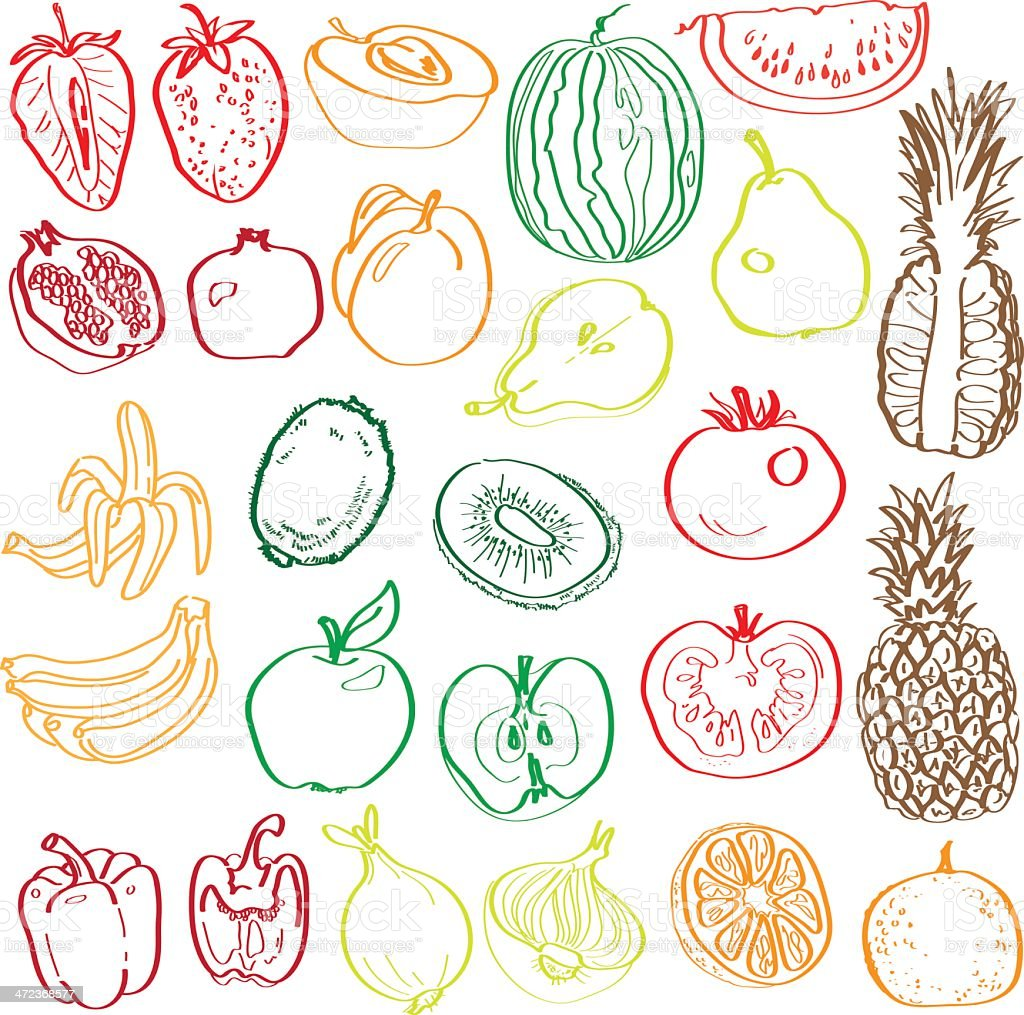 fruits and vegetables in the context of