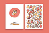 istock Fruits Related Design. Modern Vector Templates for Brochure, Cover, Flyer and Annual Report. 1207045618