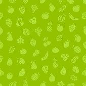 Fruits. Seamless pattern