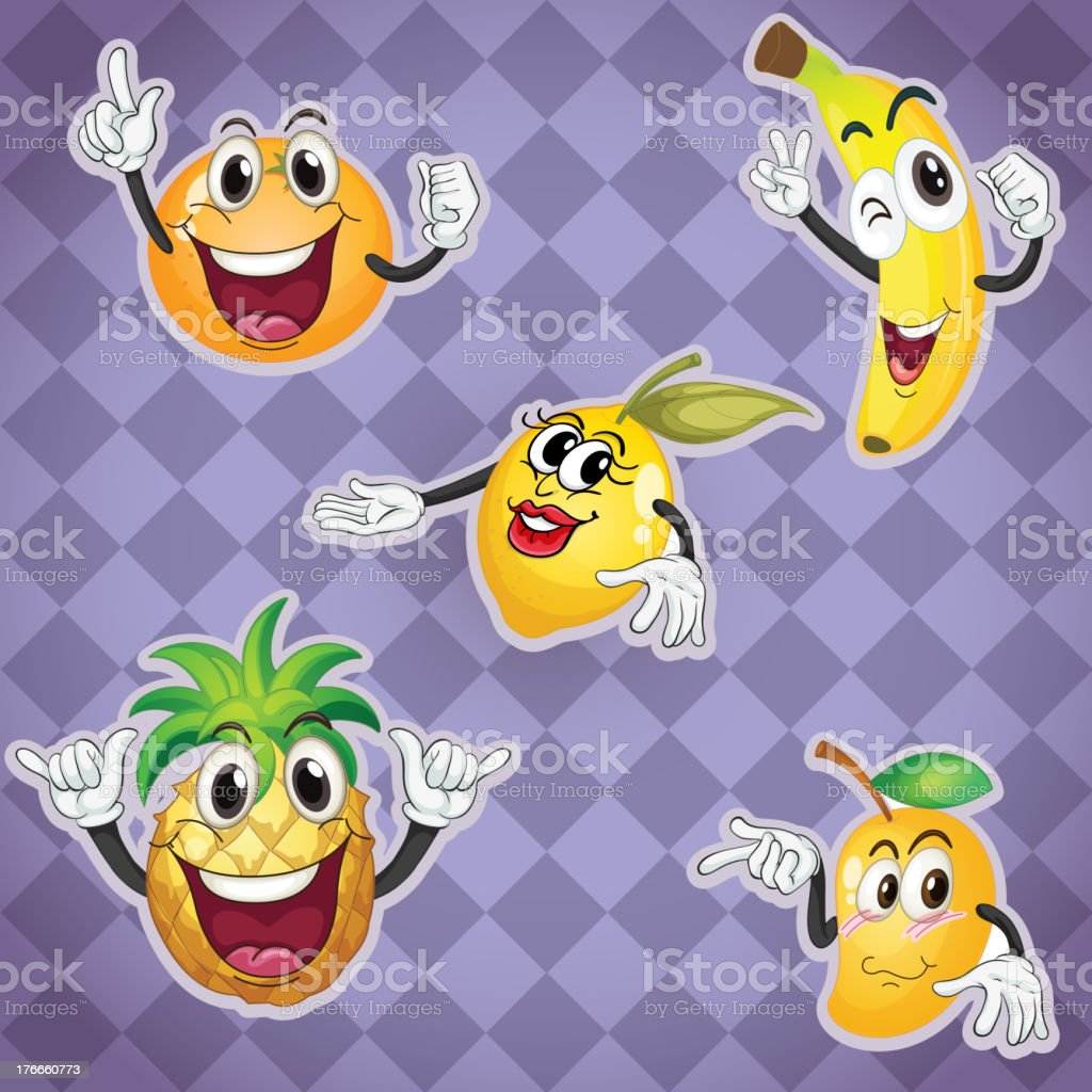 fruits royalty-free fruits stock vector art & more images of banana